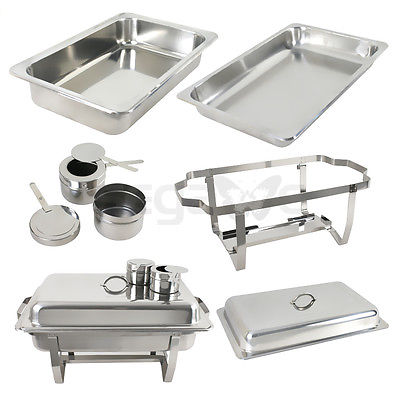 Chafing Dishes 8 Qt Stainless Steel